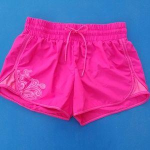 Athleta. Hot Pink. Running Shorts. Size S.